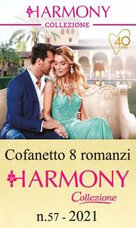 Cofanetto 8 Harmony Collezione n.57/2021 - Librerie.coop