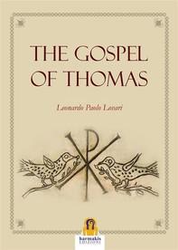 The Gospel of Thomas - Librerie.coop