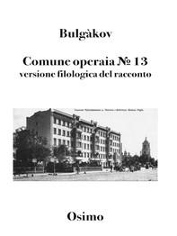 Comune operaia № 13 - Librerie.coop