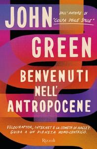 Benvenuti nell'Antropocene - Librerie.coop