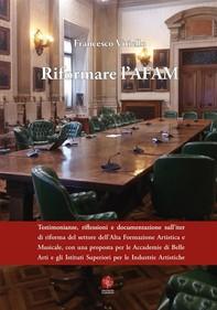 Riformare l'AFAM - Librerie.coop