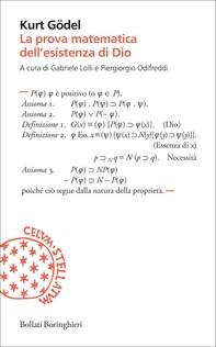 La prova matematica dell'esistenza di Dio - Librerie.coop