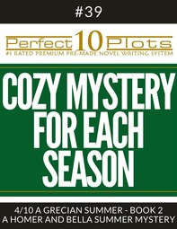 """Perfect 10 Cozy Mystery for Each Season Plots #39-4 """"A GRECIAN SUMMER - BOOK 2 – A HOMER AND BELLA SUMMER MYSTERY"""" - Librerie.coop"""