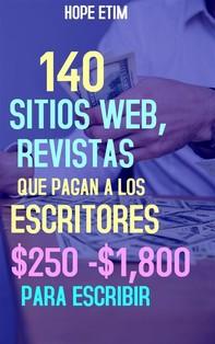 140 Sitios web, Revistas, que Pagan a los Escritores $250 - $1,800 Para Escribir - Librerie.coop