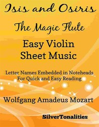 Isis and Osiris the Magic Flute Easy Violin Sheet Music - Librerie.coop