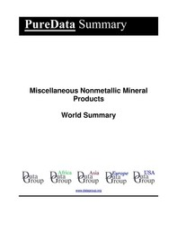 Miscellaneous Nonmetallic Mineral Products World Summary - Librerie.coop