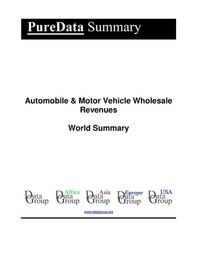 Automobile & Motor Vehicle Wholesale Revenues World Summary - Librerie.coop