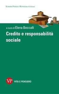 Credito e responsabilità sociale - Librerie.coop