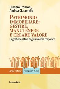 Patrimonio immobiliare: gestire, manutenere e creare valore - Librerie.coop