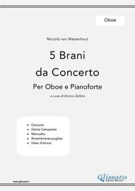 5 Brani da Concerto (N.van Westerhout) vol.Oboe - Librerie.coop