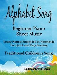 Alphabet Song Beginner Piano Sheet Music - Librerie.coop