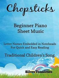 Chopsticks Beginner Piano Sheet Music - Librerie.coop