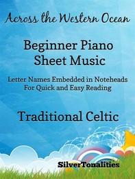 Across the Western Ocean Beginner Piano Sheet Music - Librerie.coop