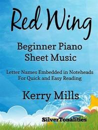 Red Wing Beginner Piano Sheet Mjusic - Librerie.coop