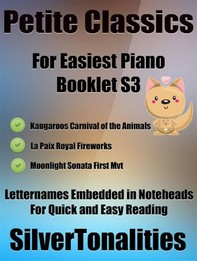 Petite Classics for Easiest Piano Booklet S3 - Librerie.coop