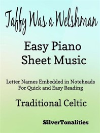 Taffy Was a Welshman Easy Piano Sheet Music - Librerie.coop