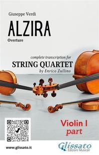 Alzira (overture) - string quartet set of parts - Librerie.coop