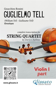 Guglielmo Tell (overture) String quartet set of parts - Librerie.coop