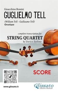 Guglielmo Tell (overture) String quartet score - Librerie.coop