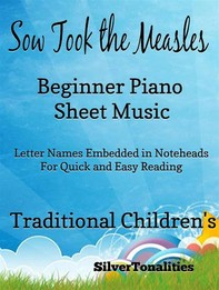 Sow Took the Measles Beginner Piano Sheet Music Tadpole Edition - Librerie.coop
