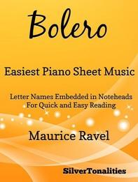 Bolero Easiest Piano Sheet Music - Librerie.coop