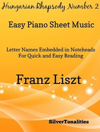 Hungarian Rhapsody Number 2 Easy Piano Sheet Music - Librerie.coop