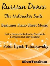 Russian Dance Nutcracker Suite Beginner Piano Sheet Music - Librerie.coop