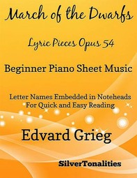 March the Nutcracker Suite Beginner Piano Sheet Music - Librerie.coop