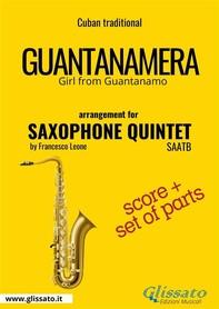 Guantanamera - Saxophone Quintet score & parts - Librerie.coop