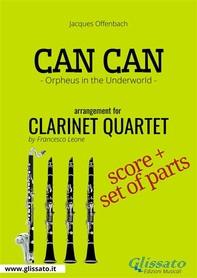 Can Can - Clarinet Quartet score & parts - Librerie.coop
