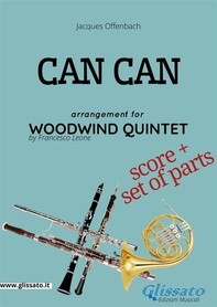 Can Can - Woodwind Quintet score & parts - Librerie.coop