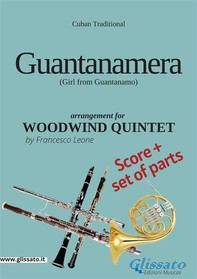 Guantanamera - Woodwind Quintet score & parts - Librerie.coop