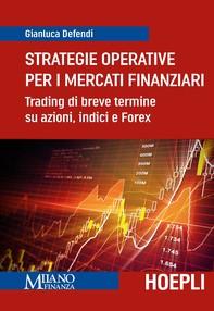 Strategie operative per i mercati finanziari - Librerie.coop