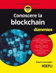 Conoscere la blockchain For Dummies - Librerie.coop