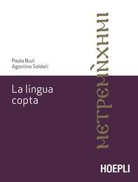 La lingua copta - Librerie.coop