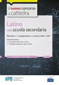 Latino nella scuola secondaria - Librerie.coop