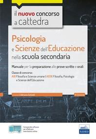 Psicologia e Scienze dell'educazione nella scuola secondaria - Librerie.coop