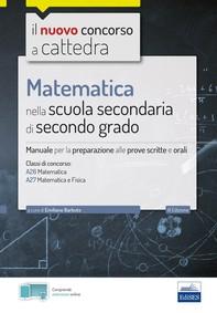 Matematica nella scuola secondaria di II grado - Librerie.coop