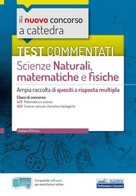 Test commentati Scienze naturali, matematiche e fisiche - Librerie.coop