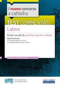 Test commentati Latino - Librerie.coop