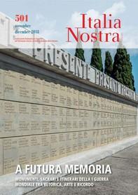 Italia Nostra 501 nov-dic 2018 - Librerie.coop