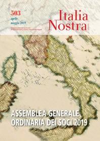 Italia Nostra 503 apr-mag 2019 - Librerie.coop