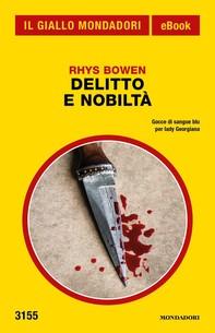 Delitto e nobiltà (Il Giallo Mondadori) - Librerie.coop
