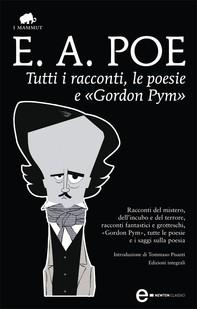 Tutti i racconti, le poesie e «Gordon Pym» - Librerie.coop