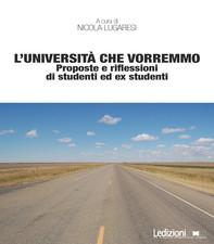 L'università che vorremmo - Librerie.coop