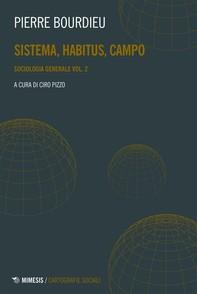 Sistema, habitus, campo - Librerie.coop