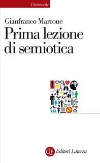 Prima lezione di semiotica - Librerie.coop