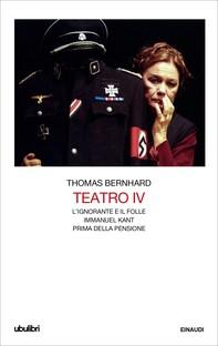 Teatro IV - Librerie.coop