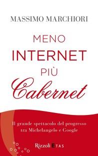 Meno internet più cabernet - Librerie.coop