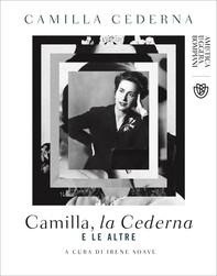 Camilla, la Cederna e le altre - Librerie.coop
